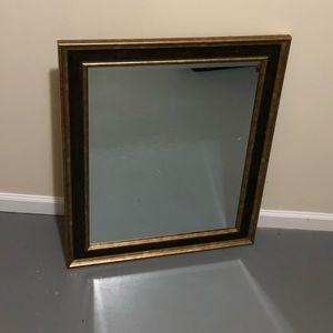 25x30 Golden Trim Wall Mirror